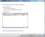 Daten aus Windows Update-Repository verschieben