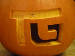 Halloween Kürbis Techguy