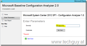 System Center 2012 SP1 – Configuration Analyzer