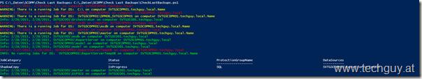 Check Last SCDPM Backup Script | techguy.at