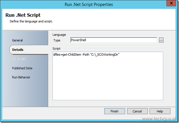 Run .Net Activity | techguy.at