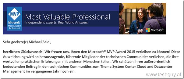 2015-10-01 17_43_08-Glückwunsch zum Microsoft MVP 2015! - Message (HTML)