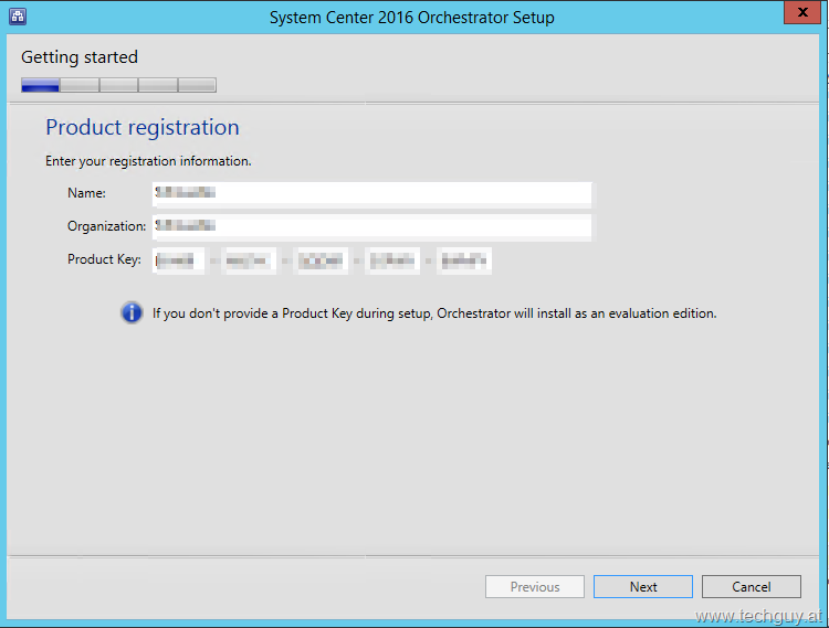 Upgrade to System Center Orchestrator 2016 » TechGuy