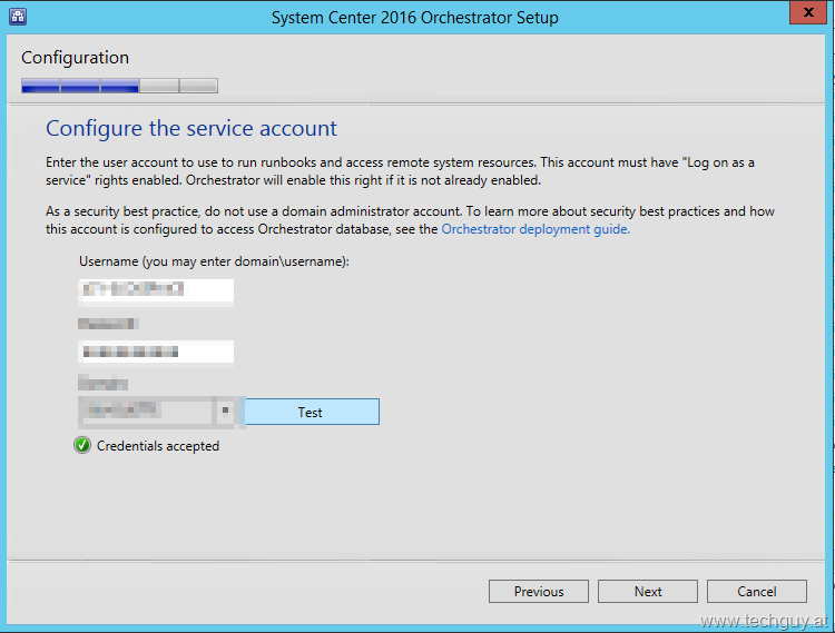 Upgrade to System Center Orchestrator 2016 | TechGuy